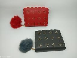 woman stylish wallet combo set