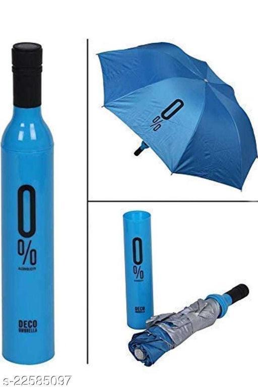 LJC BOTTLE UMBRELLA BLUE