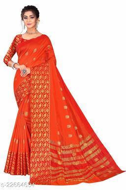Crystal Silk Saree with Blouse Piece
