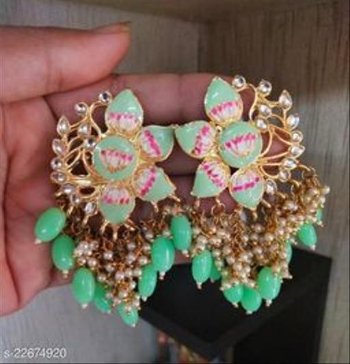Partywear Princess Fancy Earrings