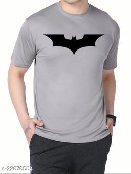 Polly Fashion Grey Printed Tshirt