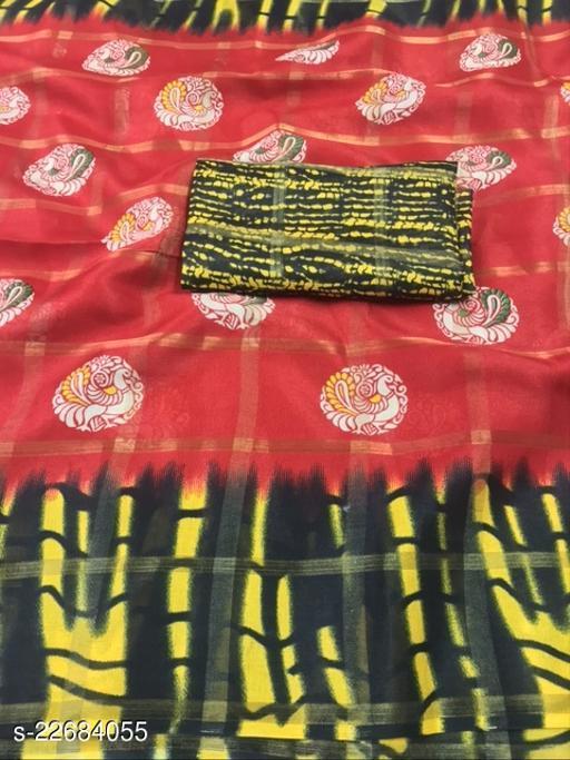 Trendy Jute Silk Sarees
