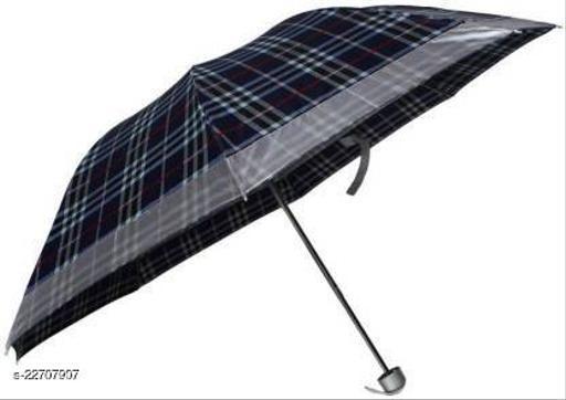 Designer Check Umbrella for Men & Women (multicolour)