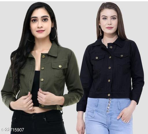 Stylish Soft Cotton Women's Jacket