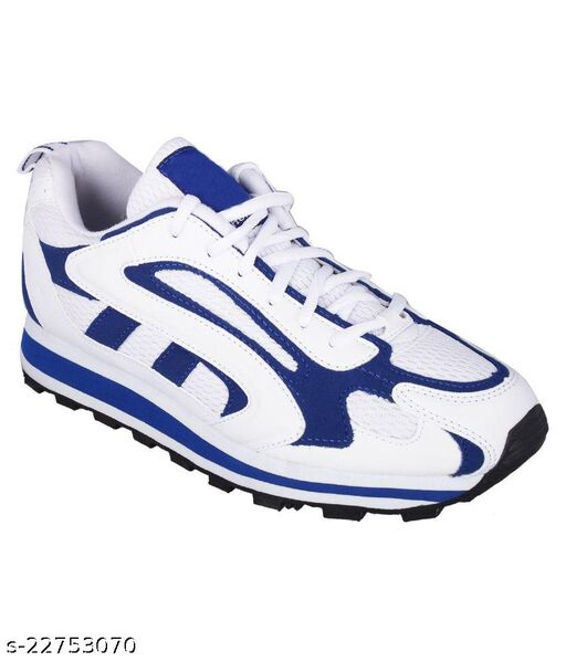 Trendy Men's White Casual Shoes