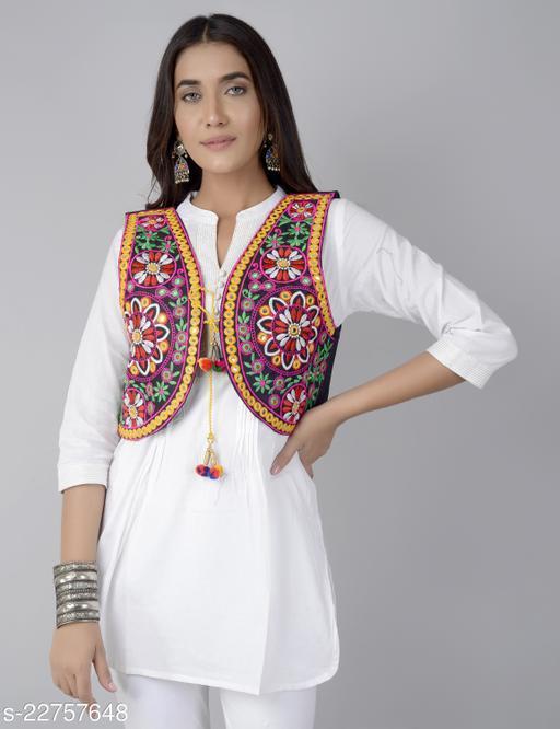 Adrika Alluring Women Ethnic Jackets