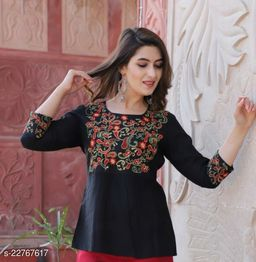 Womens Designer Office Going Casual Top