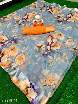 Unique Linen Saree