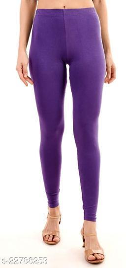 BEST SELLING WOMEN SKINY SHINING LEGGINGS PURPLE