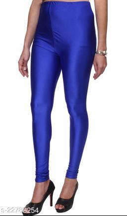 BEST SELLING WOMEN SKINY SHINING LEGGINGS ROYAL BLUE