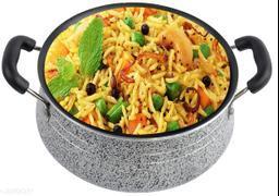 Non Stick handi /Biryani Handi with steel Lid/Cook-and-Serve Bowl Handi.
