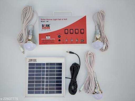 DARK Fight Solar Home Light Systems 6 volt