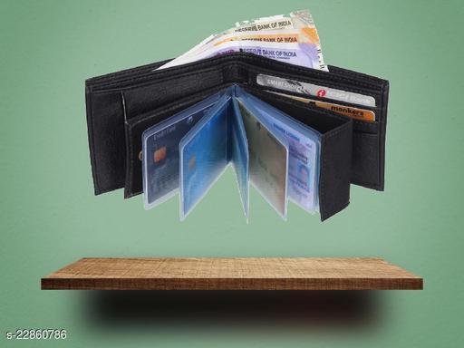 fashlook black album wallet for men