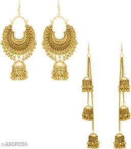Samridhi DC Combo pack of 2 oxidised earrings