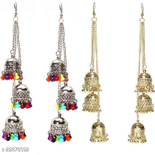 Samridhi DC Combo pack of 2 Top Trending earrings