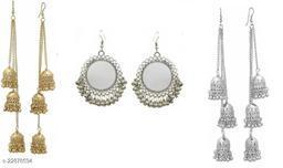 Samridhi DC Combo pack of 3 earrings