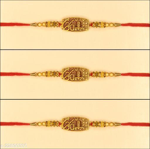 New Trend's Stylish Fancy Rakhi Pack of 3