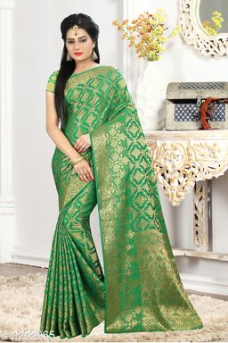 Pretty Banarasi Silk Saree