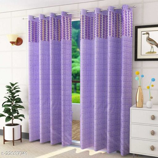 Best quality patch curtain with perfect fit to your door and window (size 5x4)