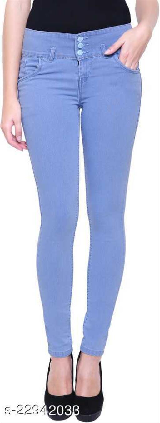 Trendy Denim Women's Jeans