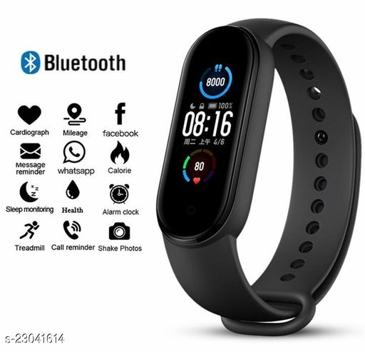M5-GHT  Smart Fitness Watch Band for Daily Activity Tracker
