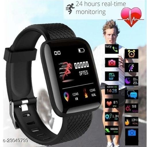 ID116-IS01 Activity Tracker Smart Fitness Watch for Men&Women