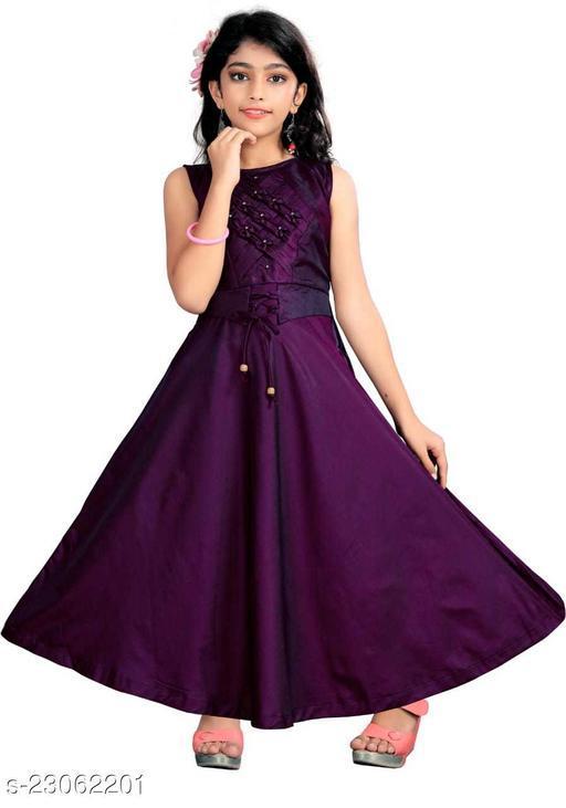 Trendy Girls Ethnic Gowns