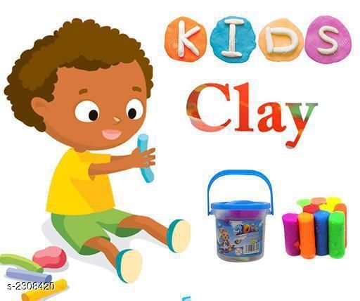 Comfy Stylish Mini Basket Bright Color Super Light Clay Kit Modeling for Kids Boys and Girls (Pack Of 2)