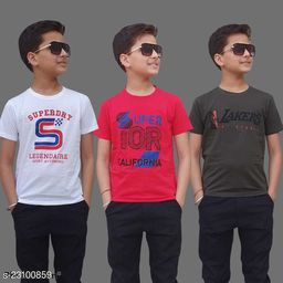 Kids Tshirts In Pack Of 3