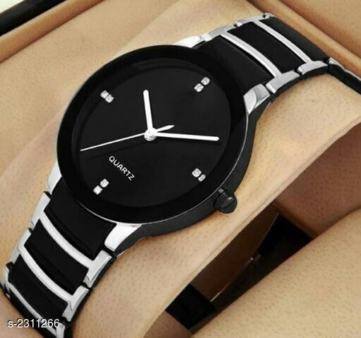 Trendy Analog Men's Wrist Watch