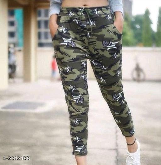 Classy Cotton Lycra Women's Trouser