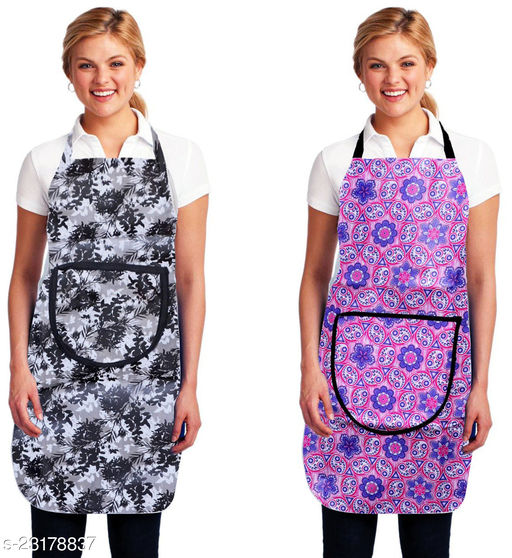 Kingly Home Waterproof Kitchen Aprons Pack Of 2