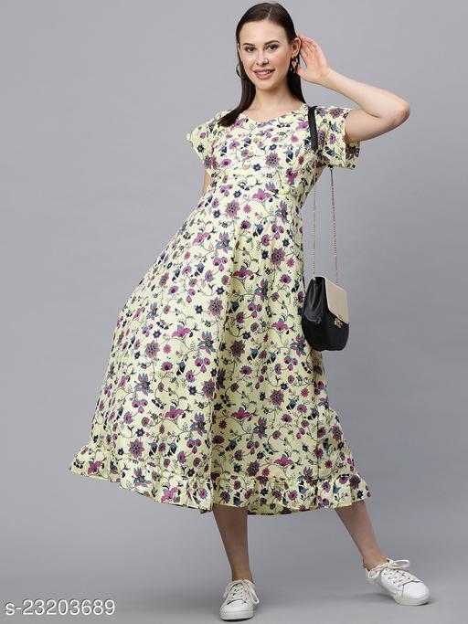 Stylish Graceful Women Maternity Dresses
