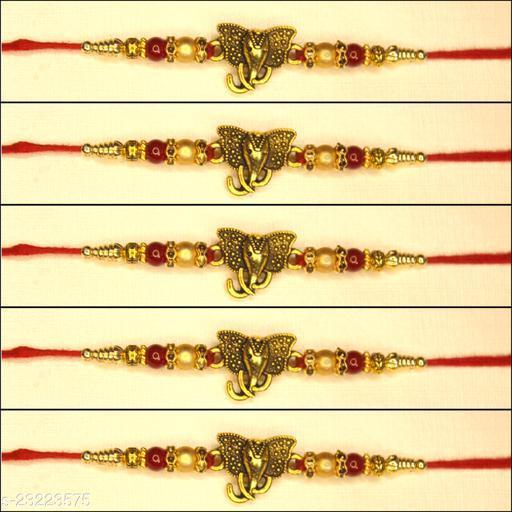 New Trend's Stylish Fancy Rakhi Pack of 5