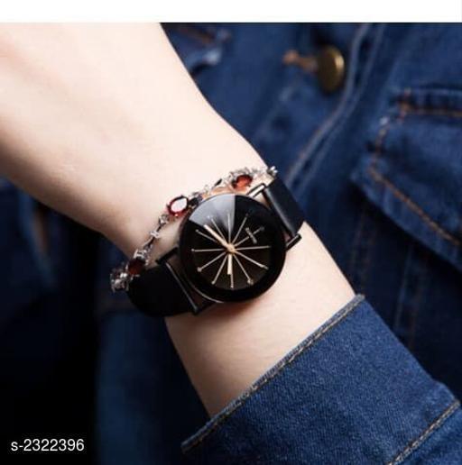 Trendy Leather Women's Watch