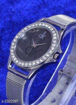 Trendy Steel Women's Watch