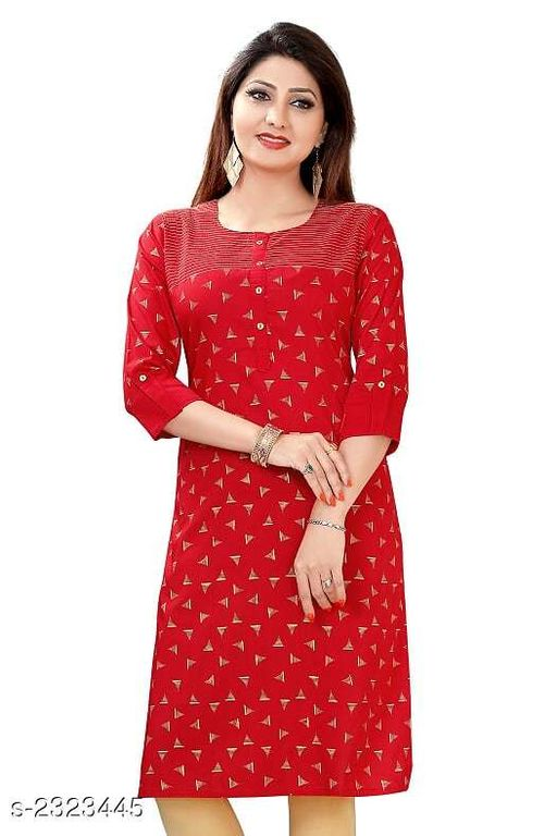 Kurtis & Kurtas Party Wear Printed Women's Kurti  *Fabric* Cotton Silk  *Sleeves* Sleeves Are Included  *Size* 5XL - 50 in, 7XL - 54 in  *Length* Up To 42 in  *Type* Stitched  *Description* It Has 1 Piece Of Women's Kurti  *Work* Printed  *Sizes Available* 50   Supplier Rating: ★4.3 (72) SKU: D0581 Free shipping is available for this item. Pkt. Weight Range: 300  Catalog Name: Jivika Party Wear Printed Plus Size Women's Kurtis Vol 10 - Amba Ethnic Center Code: 597-2323445--