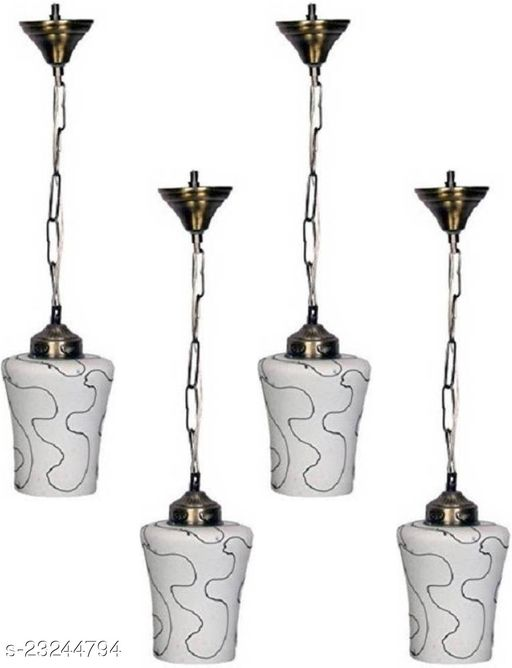Afast Stylish Pendent Ceiling, Hanging Lamp Of Of Decorative Colourful Glass Shade & Exclusives Metal Fitting With Copper Holder