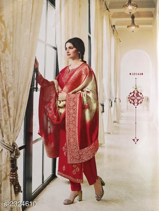 Elegant French Georgette Suit & Dress Material