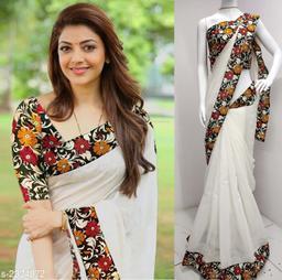 Classy Chanderi Cotton Saree