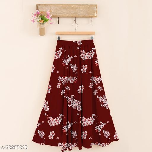 Aagam Drishya Women Ethnic Skirts