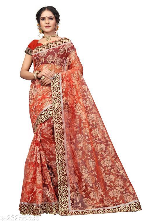Adrika Fabulous Net Sarees
