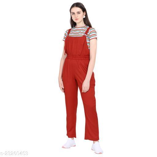 Trendy Graceful Women Jumpsuits