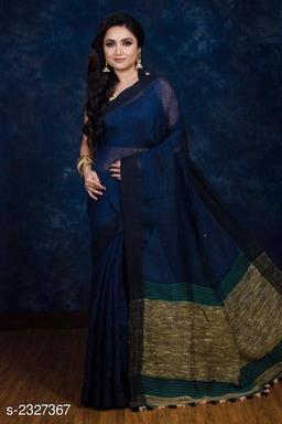 Ethnic Cotton Women's Saree