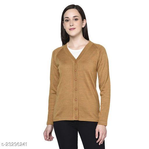 Chill Chaser Women's V Neck Solid Cardigan