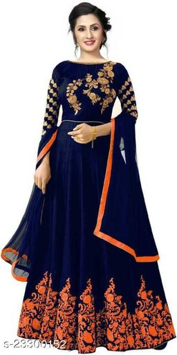 Banita Attractive Women Lehenga Amira Orange AD1