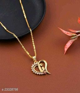 Latter And Name Pendants Set For Women's And Girls