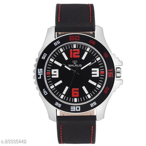 Walrus Cult II Series Black Dial Men Wristwatch