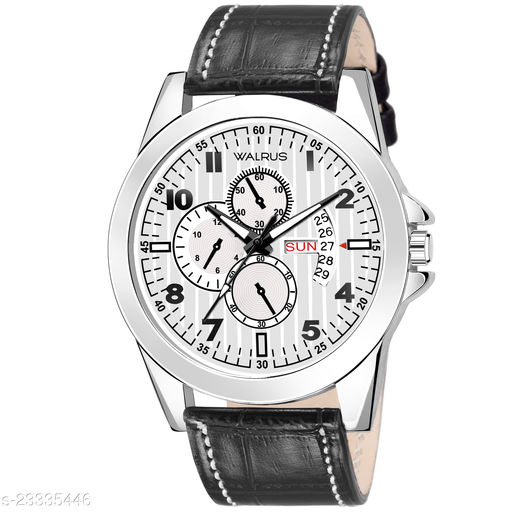 Walrus Admiral Series White Men Wristwatch With Artificial Chronograph Display & Dial Day & Date Function