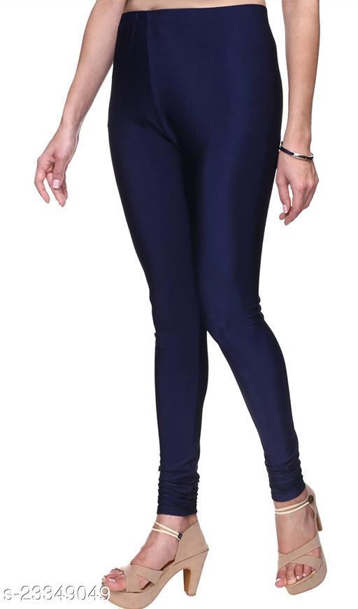 BEST SELLING WOMEN SKINY SHINING LEGGINSGS NAVY BLUE